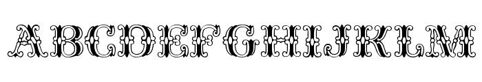 Fantasia Plain Font UPPERCASE