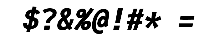 Fantasque Sans Mono Bold Italic Font OTHER CHARS