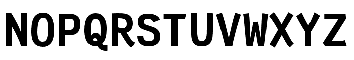 Fantasque Sans Mono Bold Font UPPERCASE