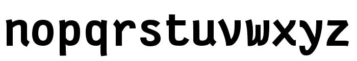 Fantasque Sans Mono Bold Font LOWERCASE