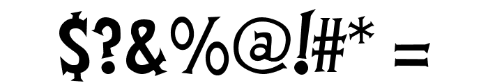 FantastiFont Font OTHER CHARS