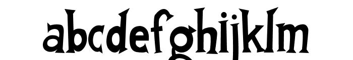 FantastiFont Font LOWERCASE