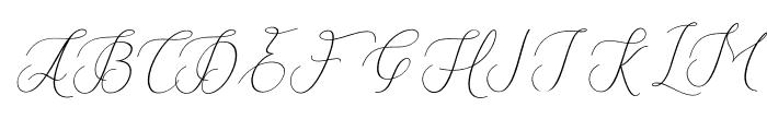 Fantastic-Italic Font UPPERCASE