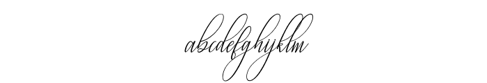 Fantastic-Italic Font LOWERCASE