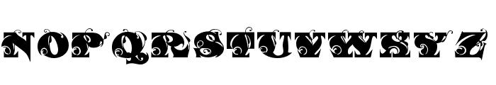 FantasticMF Initials Font UPPERCASE
