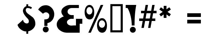 FantasticMF Modern Font OTHER CHARS