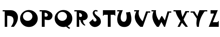 FantasticMF Modern Font UPPERCASE