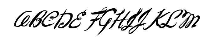 FantasticSeasons Font UPPERCASE