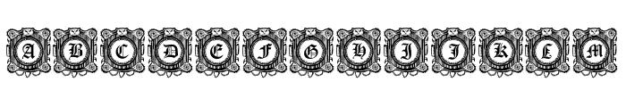 Fantasy Capitals Regular Font UPPERCASE