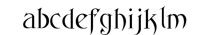 Fantasy One Font LOWERCASE