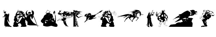 FantasyBeings Font LOWERCASE