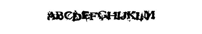 FantasyMachine Font UPPERCASE