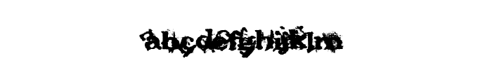 FantasyMachine Font LOWERCASE
