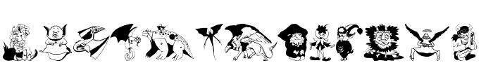 FantasyPix Font LOWERCASE