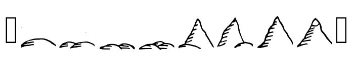 Fantasymapbats Regular Font OTHER CHARS
