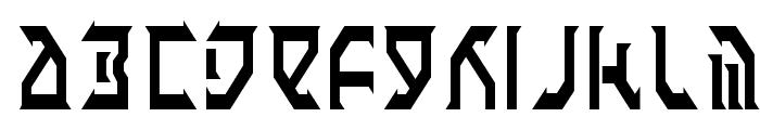 Fantazian Condensed Font LOWERCASE