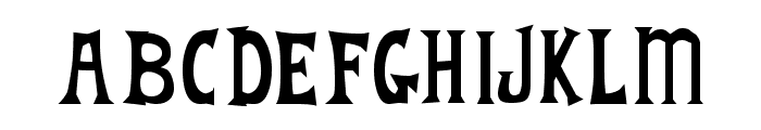 Fantique Four Font UPPERCASE