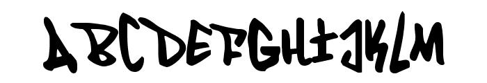 Fantom Condensed Font UPPERCASE