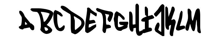Fantom Condensed Font LOWERCASE