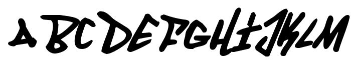 Fantom Italic Font LOWERCASE