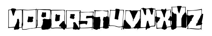 FantomBantum Font UPPERCASE