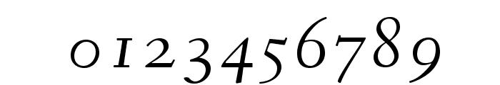 Fanwood Italic Font OTHER CHARS