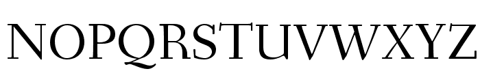 Fanwood TT Regular Font UPPERCASE