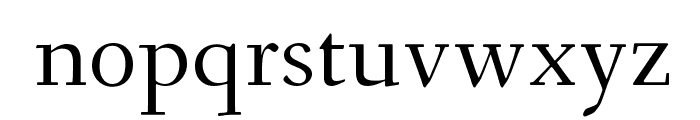 Fanwood TT Regular Font LOWERCASE