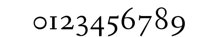 Fanwood Text TT Regular Font OTHER CHARS