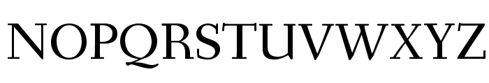 Fanwood Text TT Regular Font UPPERCASE