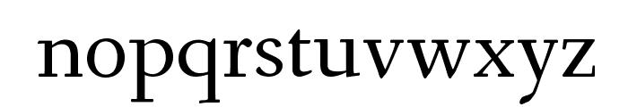 Fanwood Text TT Regular Font LOWERCASE