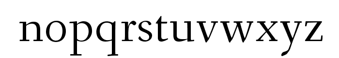 Fanwood Font LOWERCASE