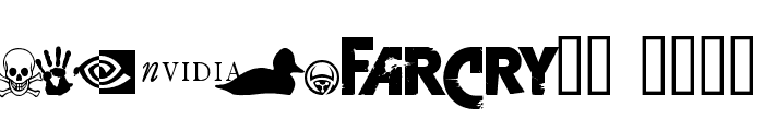 FarCry  ExtraBold Font LOWERCASE