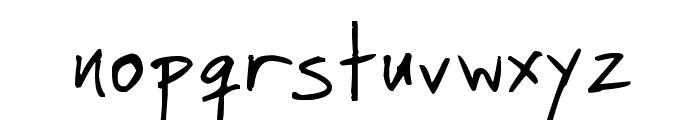 Faraco Hand Font LOWERCASE