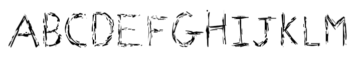 Faraday Font UPPERCASE