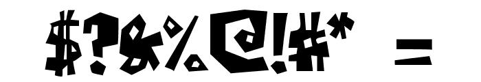 Farckenzlabb Font OTHER CHARS
