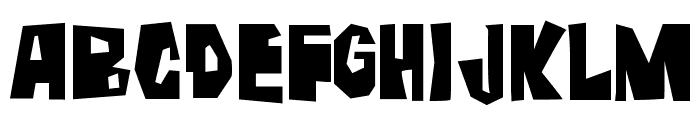 Farckenzlabb Font UPPERCASE