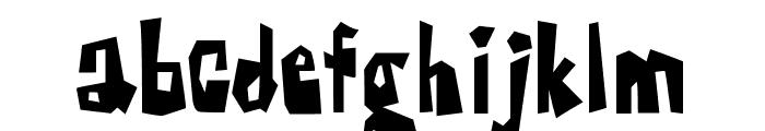 Farckenzlabb Font LOWERCASE