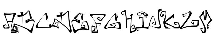 Farewell Eternity Font UPPERCASE