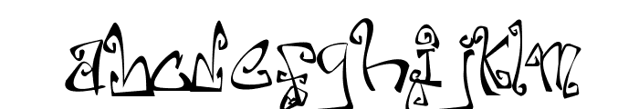 Farewell Eternity Font LOWERCASE