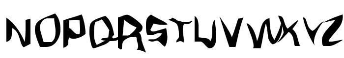 Fargas Font UPPERCASE