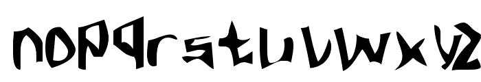 Fargas Font LOWERCASE