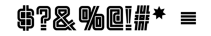Fargo Faro NF Font OTHER CHARS