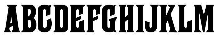 Farley MF Font LOWERCASE