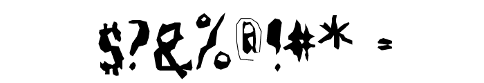 FarmersWrite Font OTHER CHARS
