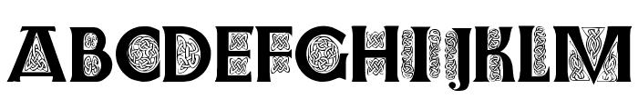Farnoe Initials Font UPPERCASE