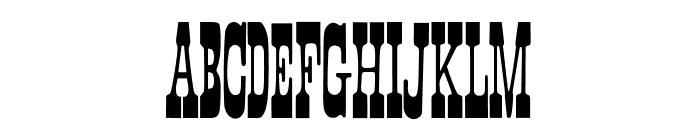 Faroest Font LOWERCASE