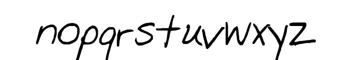 Farrah Font LOWERCASE