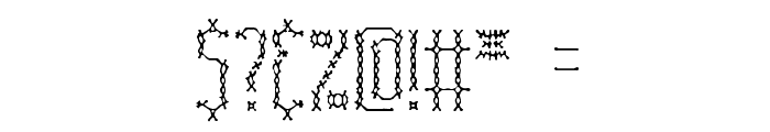 Fascii Cross BRK Font OTHER CHARS
