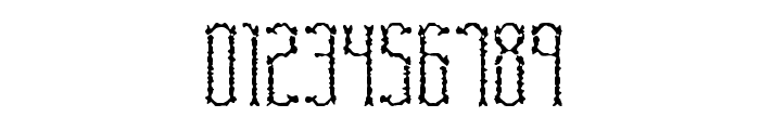 Fascii Scraggly BRK Font OTHER CHARS